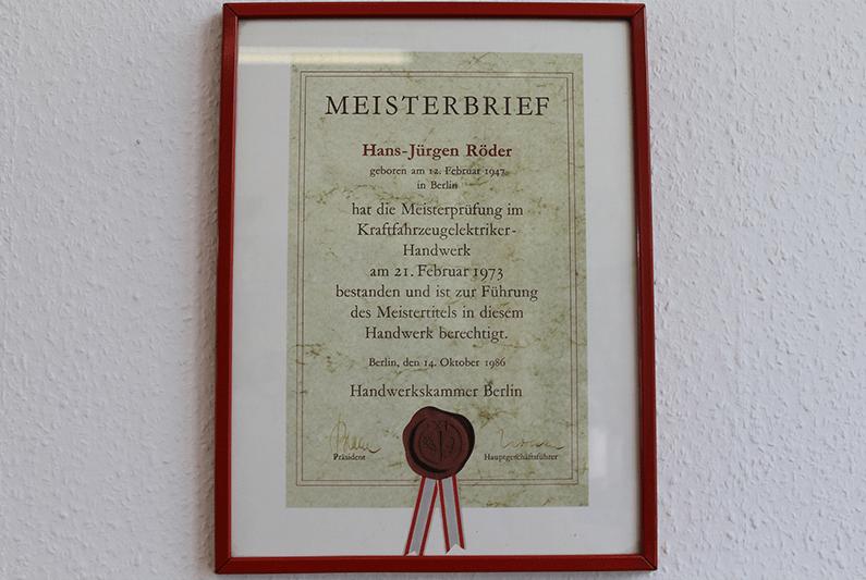 MEISTERBETRIEB